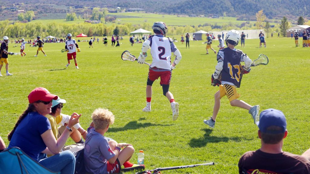 Teams compete in the 2019 Aspen Shootout lacrosse tournament at Crown Mountain Park in El Jebel.