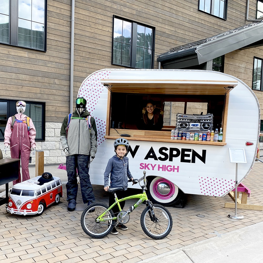 Remy Selby visits the W Aspen Bitsy Wagon.