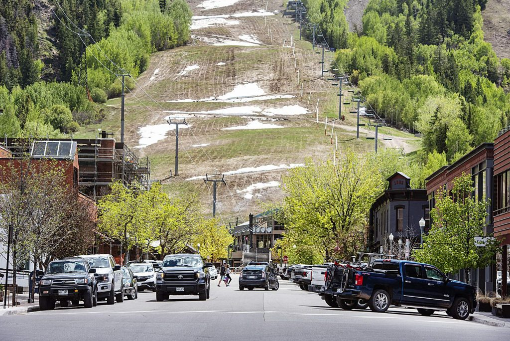 aspen returns to normalcy with paid parking aspentimes com normalcy with paid parking