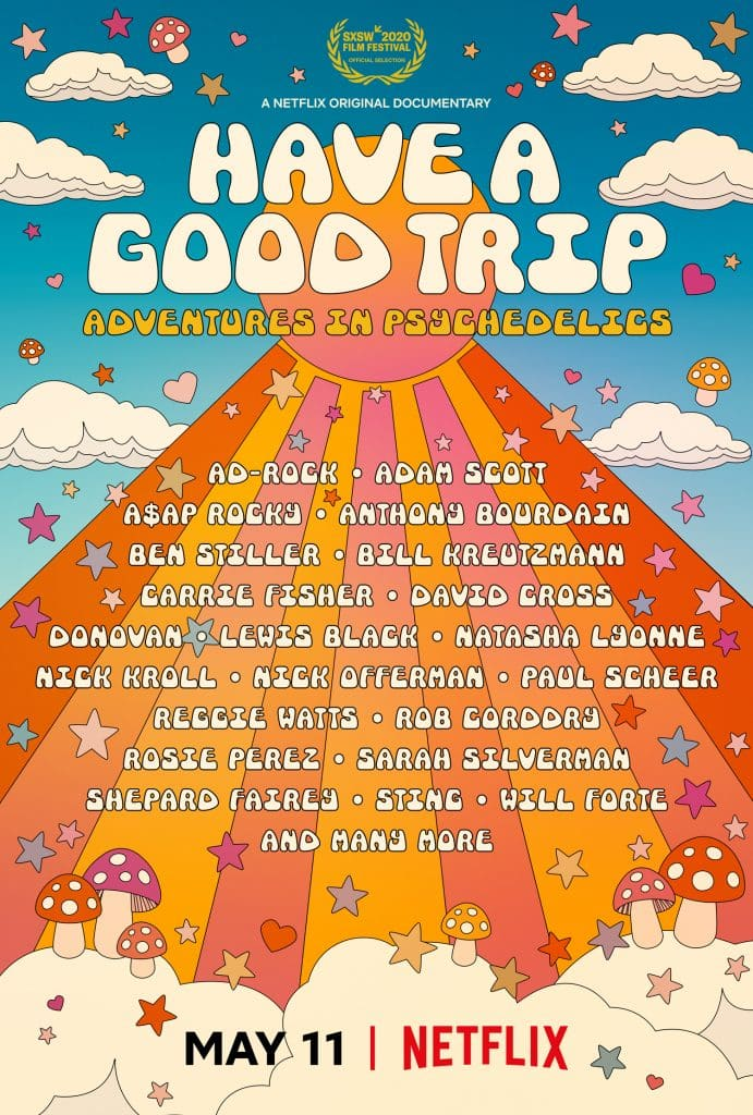 "'Have a Good Trip: Adventures in Psychedelics"" premieres on Netflix on Monday, May 11."