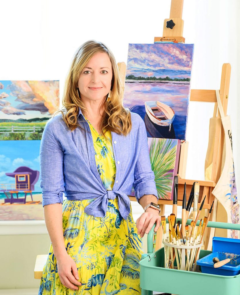 Snowmass Village's Emily Chaplin is hosting a 20-piece auction of her original artwork to raise funds for frontline COVID-19 organizations.
