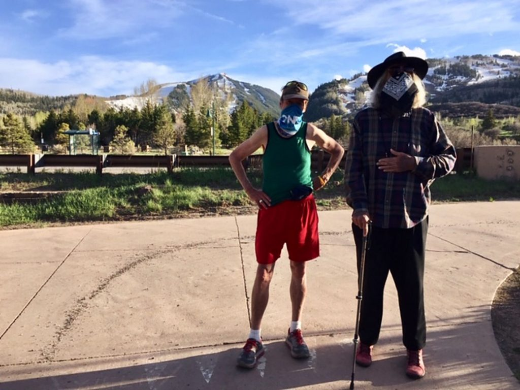 Two former officeholders — one Mike Ireland, once a county commissioner, city councilman and Aspen mayor; the other Bob Braudis, former sheriff and county commissioner — go undercover during the pandemic on the Aspen Golf Course trail.