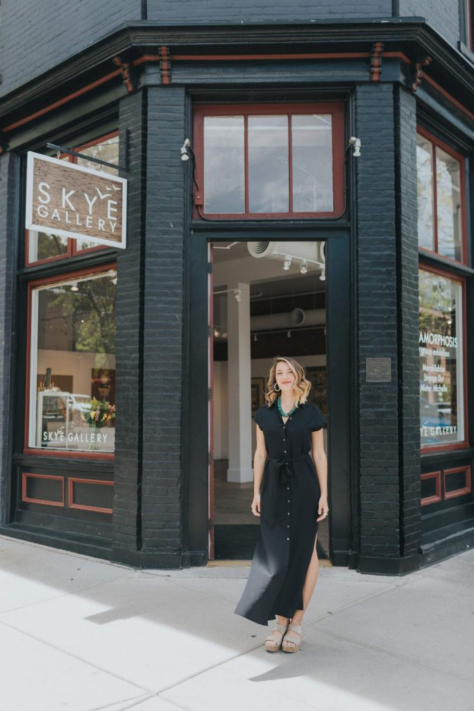 Skye Gallery Aspen has closed its doors, but remains operational through virtual tours and online shopping.