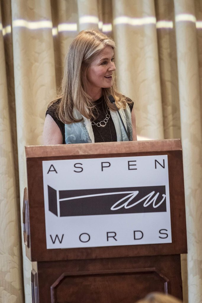Aspen Words executive director and