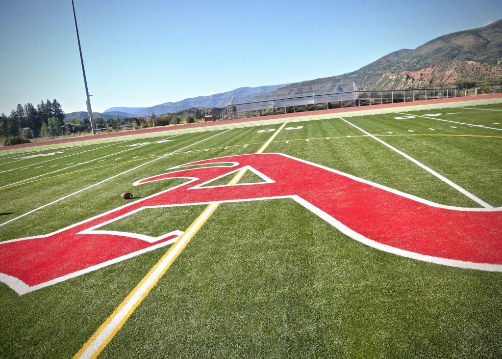 The Aspen School District turf field.
