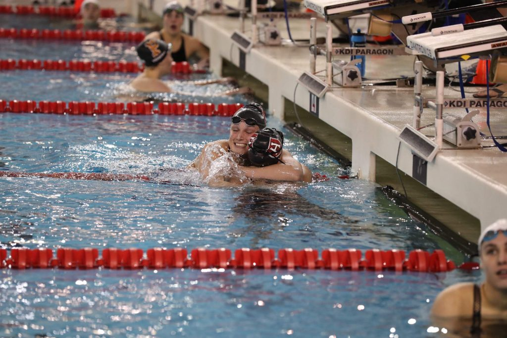 Kennidy Quist, a 2017 Aspen High School graduate, earned All-American swimming honors as part of a pair of relays at Harvard.