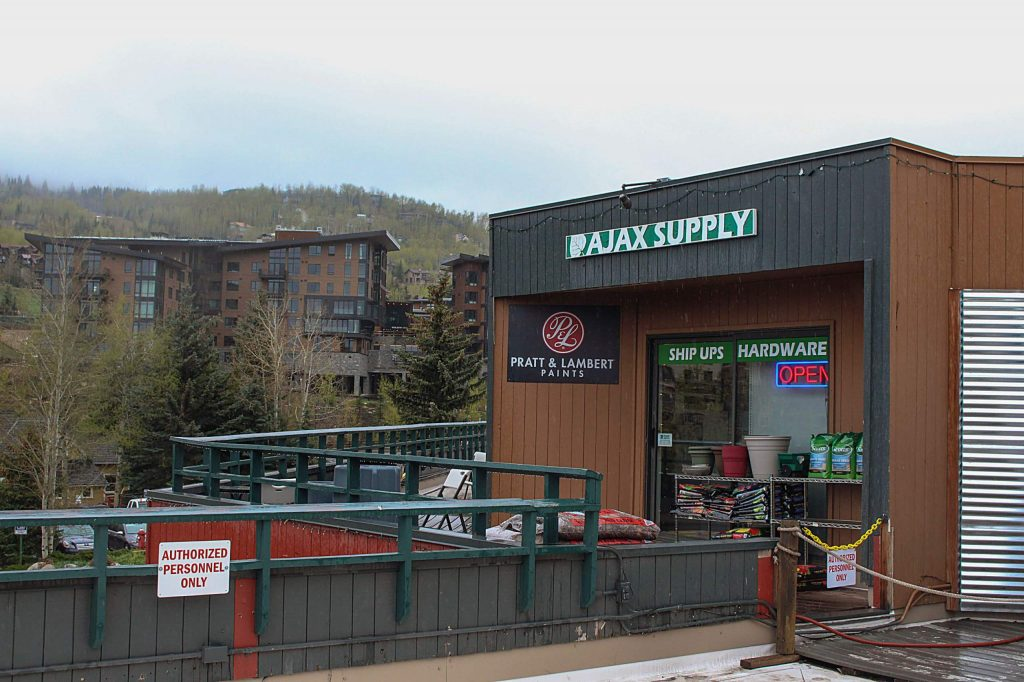 Ajax Supply in Snowmass Village on May 11, 2020.