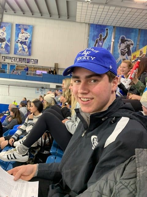 Former Steamboat Springs hockey player Lucas Coon was selected in the fifth round of the U.S. Hockey League Draft and will play in Iowa for at least a year before playing Division I hockey at the U.S Air Force Academy.