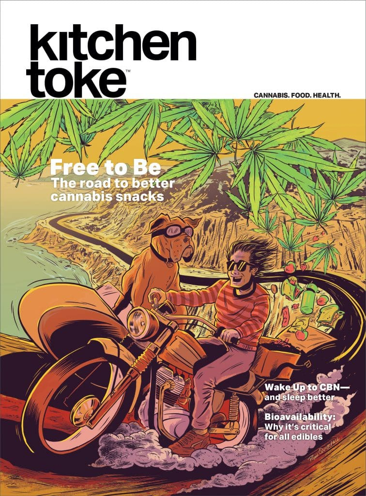 Kitchen Toke's 2020 summer issue is all about snacks to-go.