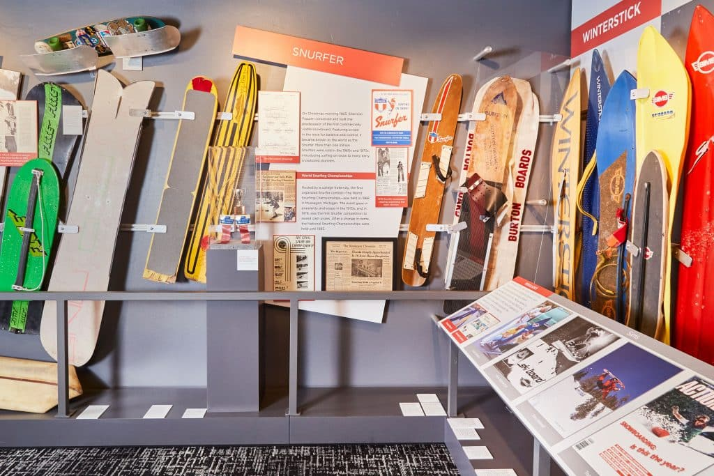 A current display of items from the Poppen Family Collection is on display now at the Colorado Snowsports Museum.