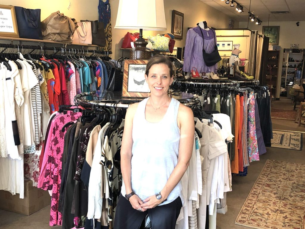Owner Danica Moodie poses inside her Susie's at Willits store on Thursday, June 18, 2020. (Photo by Scott Condon/The Aspen Times)