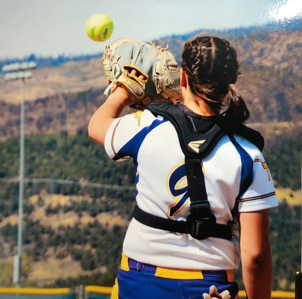 Basalt High School class of 2020 graduate Zoe Vozick will continue her softball career at George Mason University.