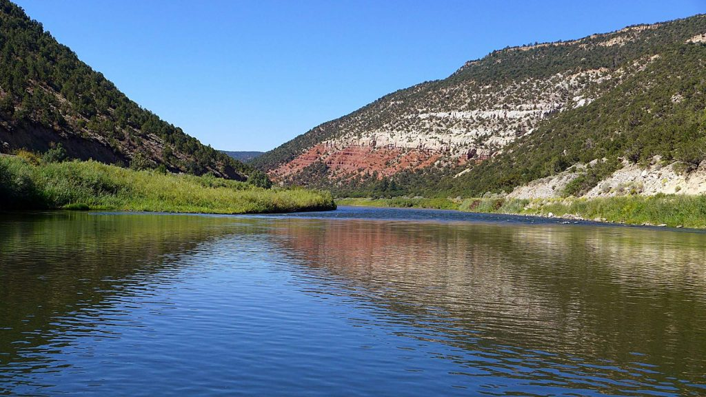 A scenic section of the Upper Colorado River between Pumphouse and State Bridge. The BLM and Forest Service recently approved an alternative management plan, partially funded by the state, that acts as a workaround to a federal Wild & Scenic designation.