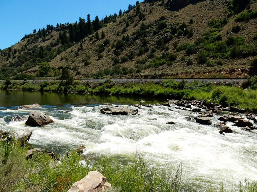 Rodeo Rapid is one of the few rapids on the upper Colorado River between Pumphouse and Dotsero. The BLM and Forest Service recently approved an alternative management plan for the upper Colorado, which acts as a workaround to a federal Wild & Scenic designation.