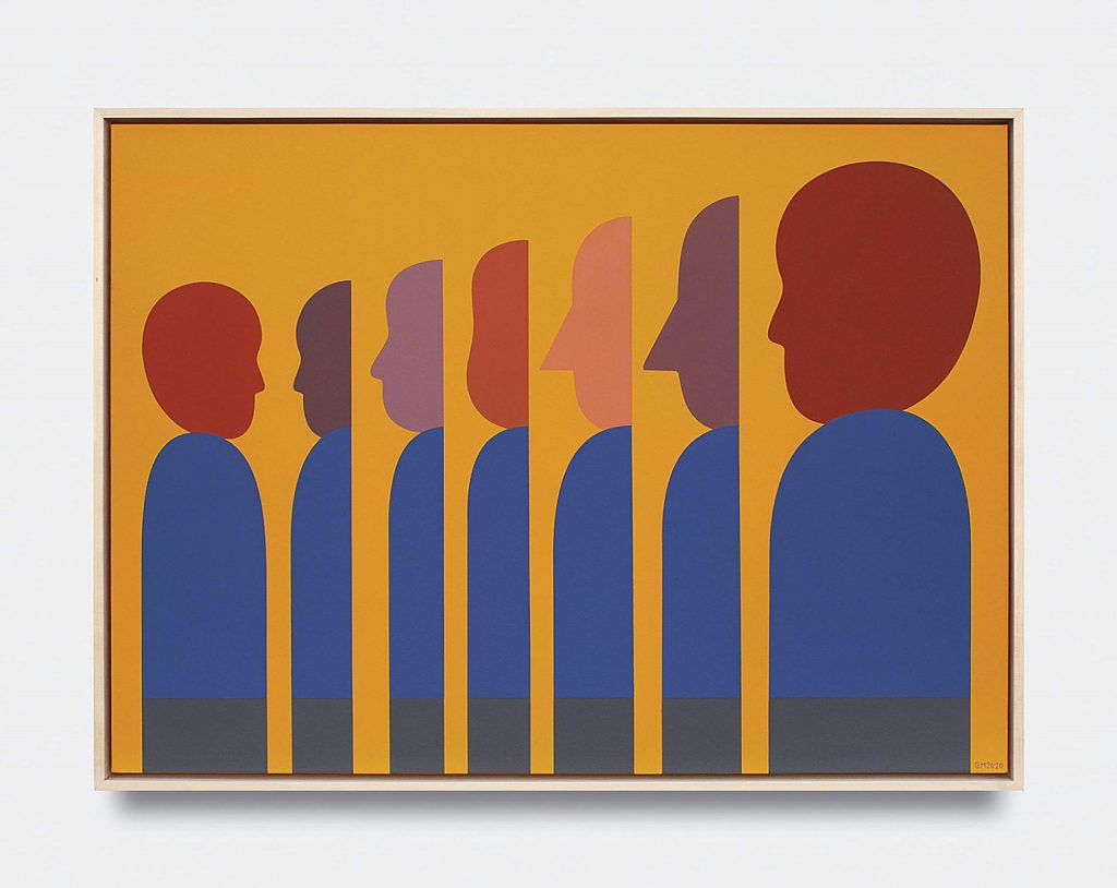 Geoff McFetridge, from V1 Gallery's virtual viewing room at Intersect Aspen.