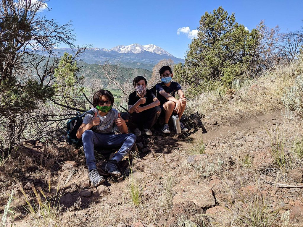 The Buddy Program's Leadership through Exploration, Action and Discovery Program has been out with kids from Basalt Middle School for outdoor adventures.
