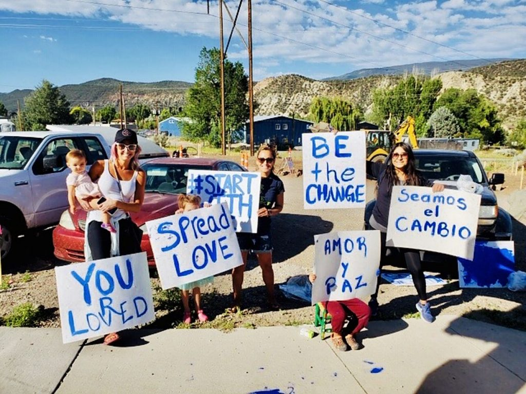Wes Campbell organized an event in the valley earlier this month to spread love, positivity, inclusivity and ultimately start a conversation about how each of us are truly essential to real change. The