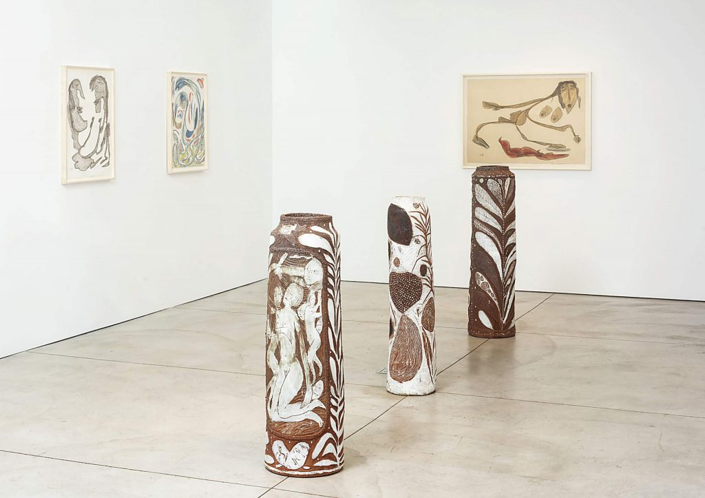 Jasmine Little and Thornton Dial's dual exhibition at Marianne Boesky Gallery in Aspen.