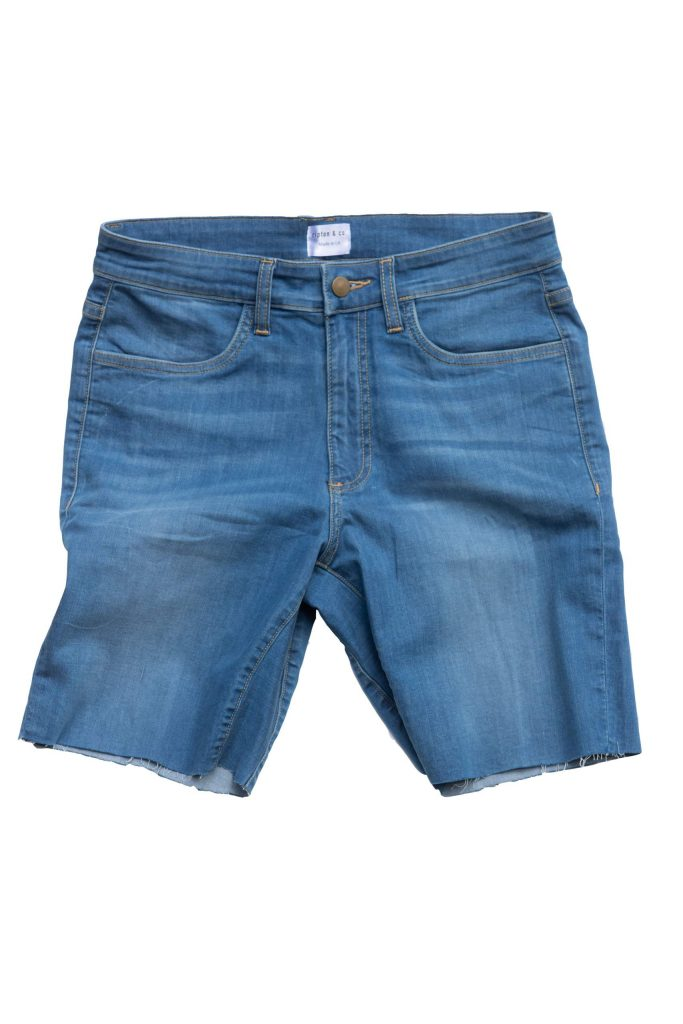 Aspen's Elliot Wilkinson-Ray, a Vermont native, founded Ripton & Co., which makes athletic jean shorts.