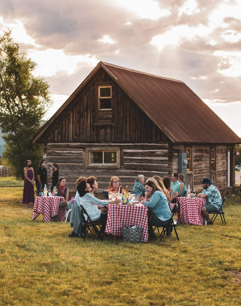 The Dinner on the Farm summer series offers a breath of fresh air during social-distanced dining