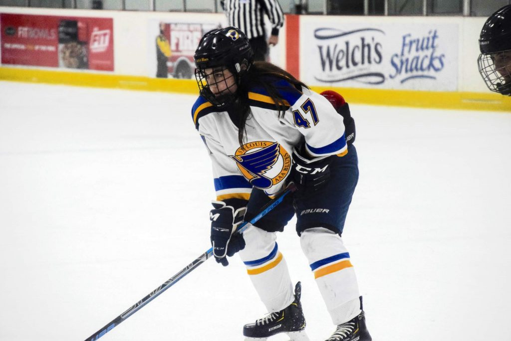 AK Fuentes, a 2020 Aspen High School graduate, will continue her hockey career at New England College in New Hampshire.
