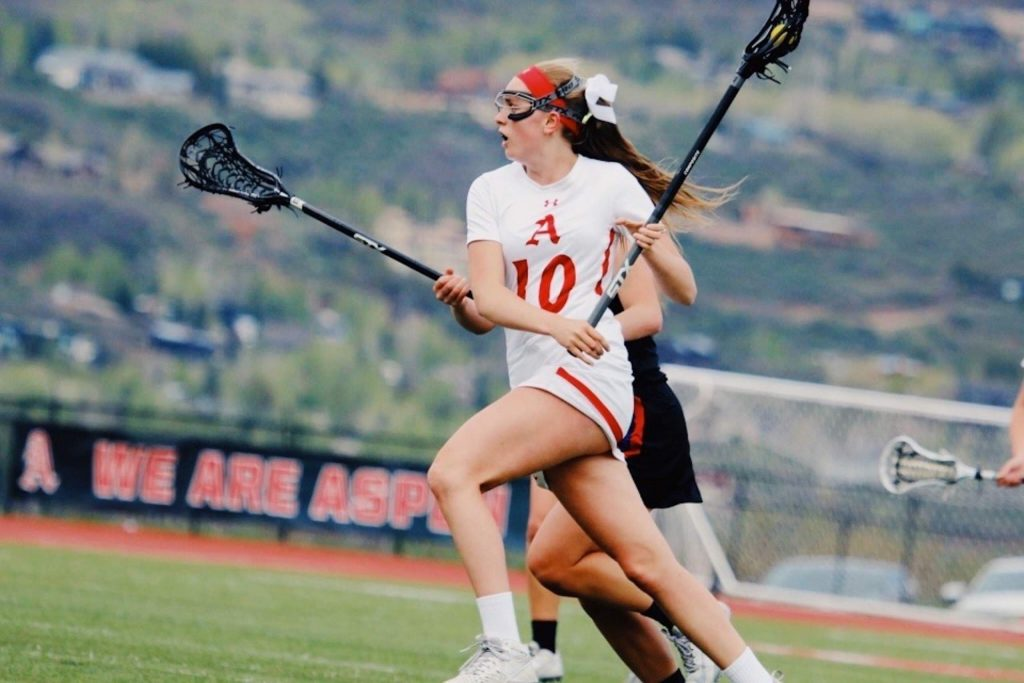 Hayley Heinecken was a standout for the Aspen High School girls lacrosse team. She will play collegiately at Colorado College.