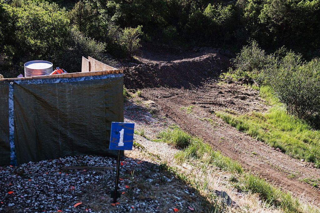 New safety measures were put into place at the Basalt Public Shooting Range in El Jebel on Tuesday, June 30, 2020. (Kelsey Brunner/The Aspen Times)