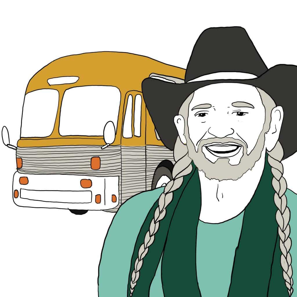 """Season two features Willie Nelson, """"America's Favorite Pot Smoker,"""" in episode 11."""