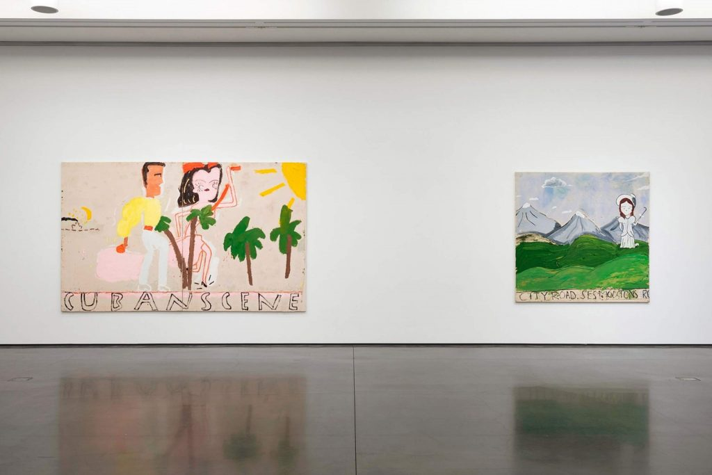 Rose Wylie's