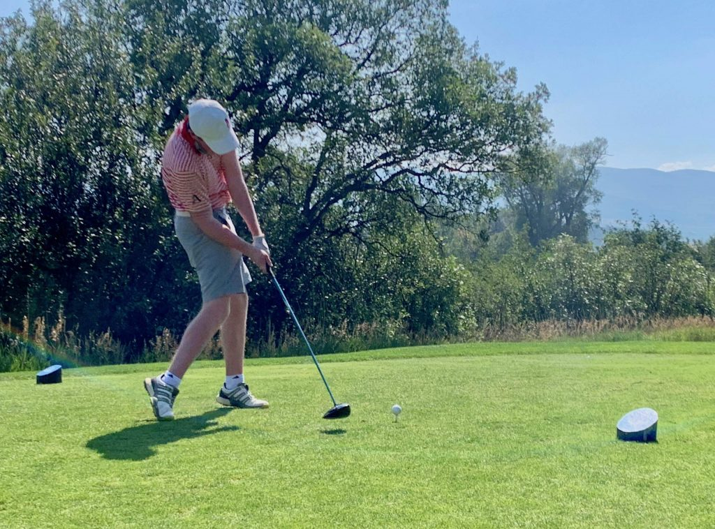 Aspen High School's Jake Doyle competes on Tuesday, Aug. 18, 2020, at River Valley Ranch in Carbondale.