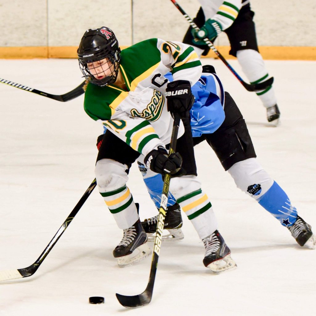 Former Aspen Junior Hockey standout Laney Martens will continue her hockey career at Lawrence University in Wisconsin.