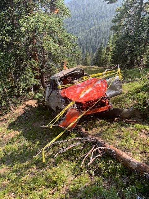 A 2016 Kia Soul tumbled more than 500 feet off Independence Pass near the summit late Thursday night. Two women in the vehicle were airlifted to a Denver-area hospital.