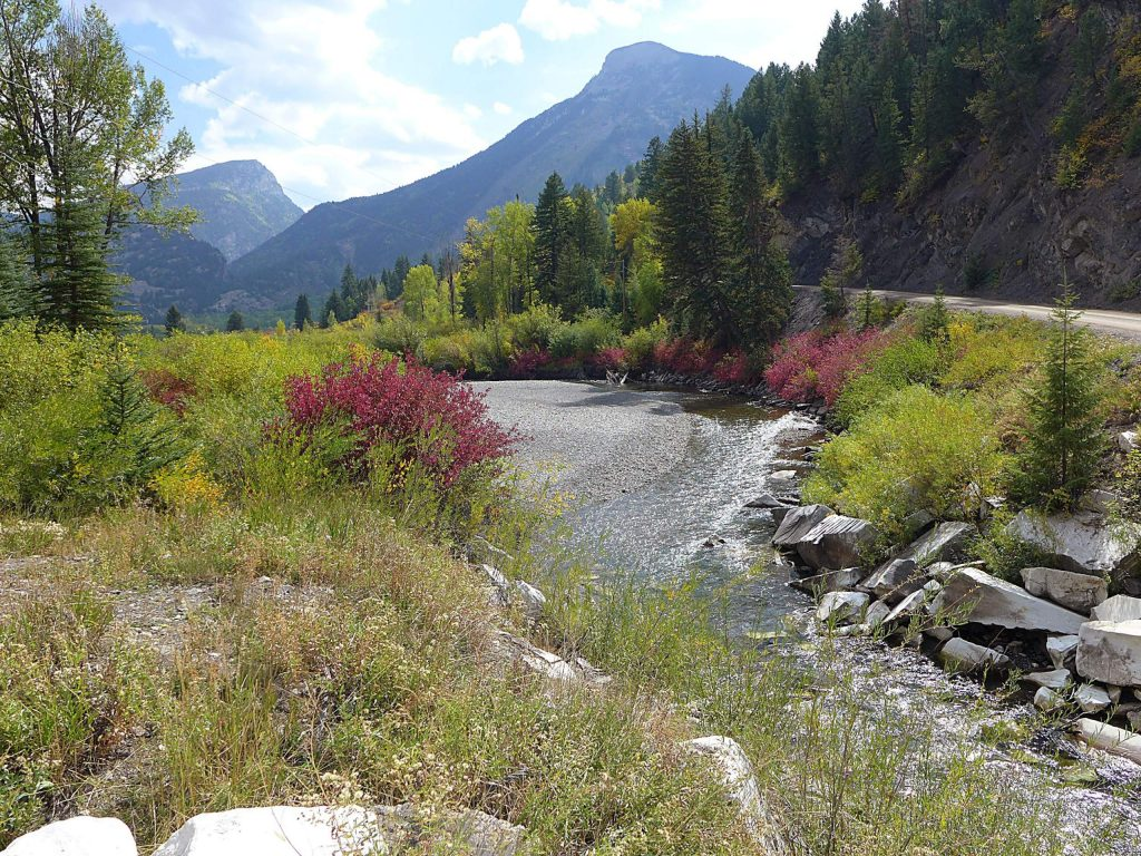 The Crystal River runs parallel to County Road 3 as it flows past the town of Marble. The Pitkin County Healthy Rivers board has expressed interest in a water quality monitoring program to see if the diversion of Yule Creek, a tributary of the Crystal, is having downstream impacts.