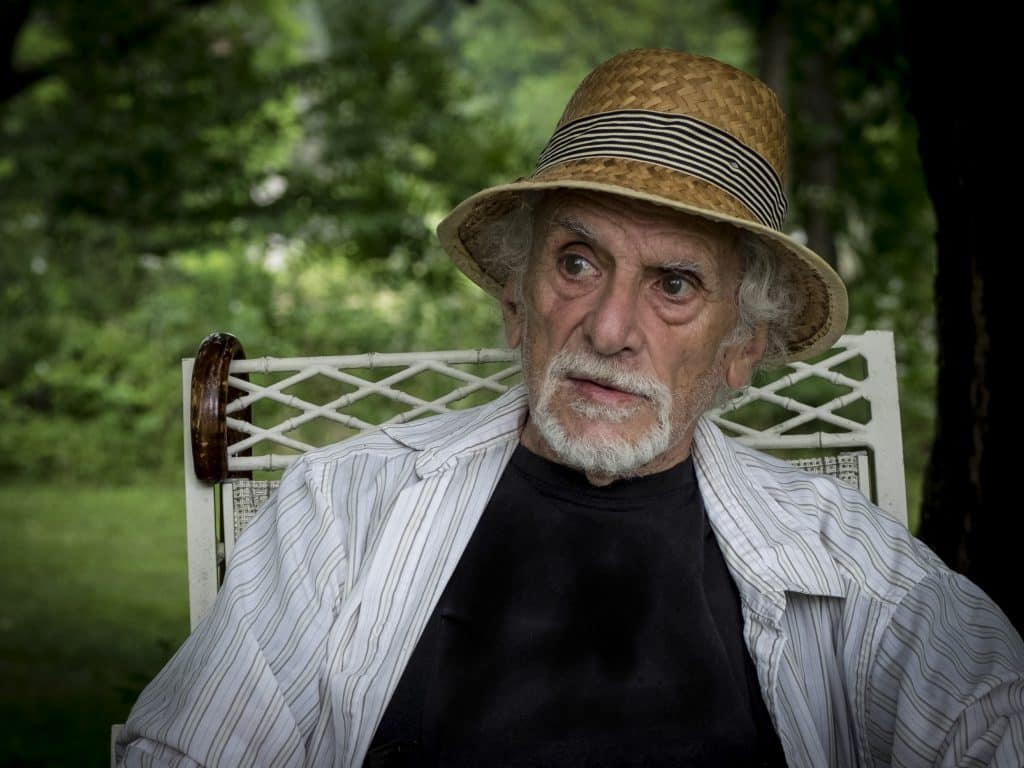 """""""Schmegoogle: Yiddish Words for Modern Times"""" is the latest from New York Times best-selling author Daniel Klein, pictured here at home in Great Barrington, Massachusetts."""