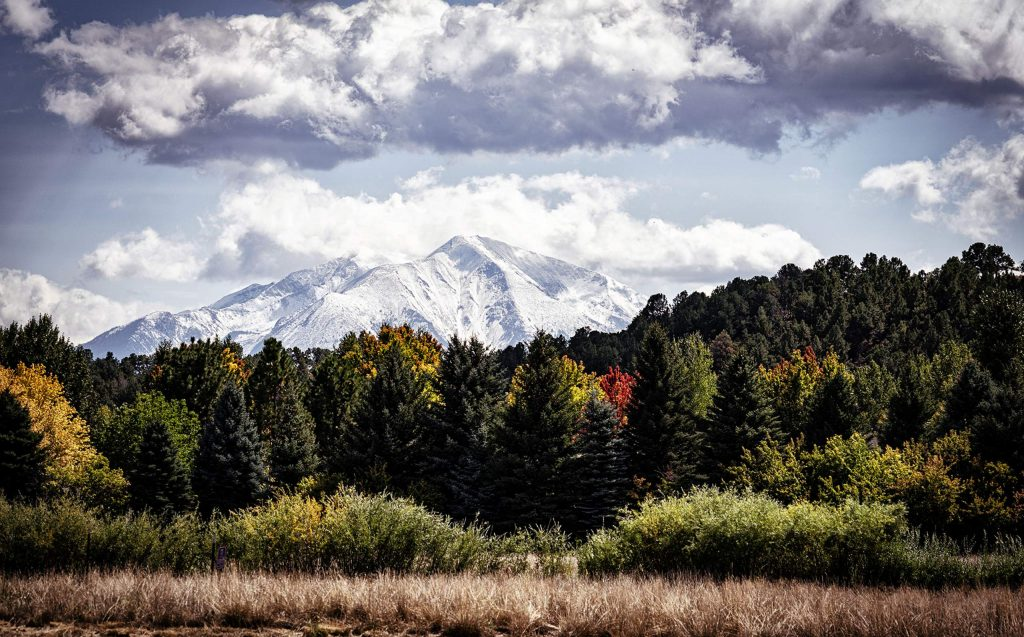 Reader Bobbie Goodrich captured a snowcapped Mount Sopris on Sept. 11.