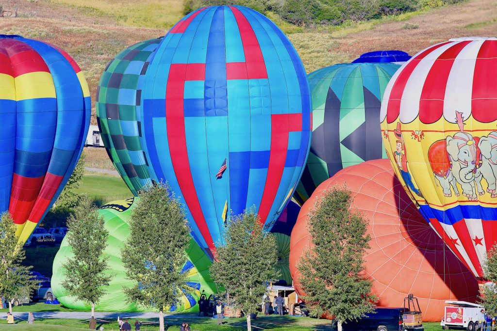 Photos from the Snowmass Balloon Festival on Saturday, Sept. 12, 2020, in Snowmass Village. (Photo by Austin Colbert/The Aspen Times)