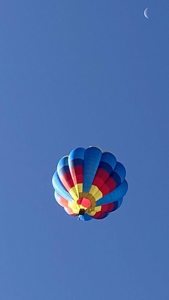 Hot air balloons filled the sky Saturday morning above Snowmass Village for the 45th annual Snowmass Balloon Festival.