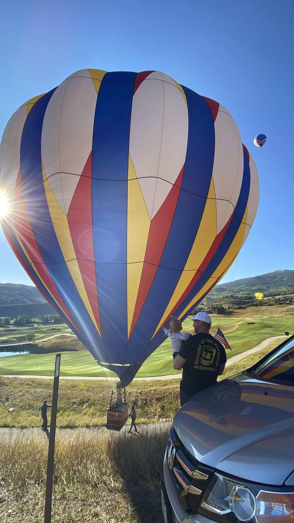 Hot air balloons filled the sky Saturday morning above Snowmass Village for the 45th annual Snowmass Balloon Festival. Hundreds of people watched from around Town Park and Brush Creek Road as the field was closed this year because of coronavirus concerns.