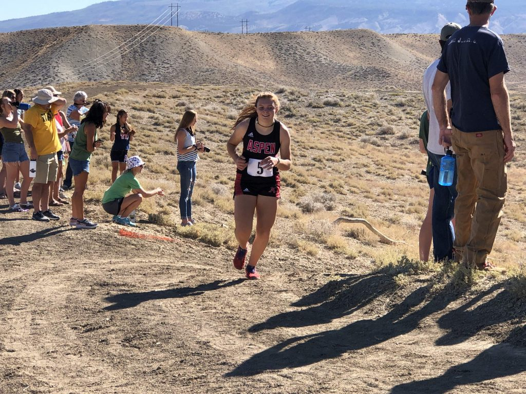 Aspen High School cross country competes on Saturday, Sept. 5, 2020, in Hotchkiss.