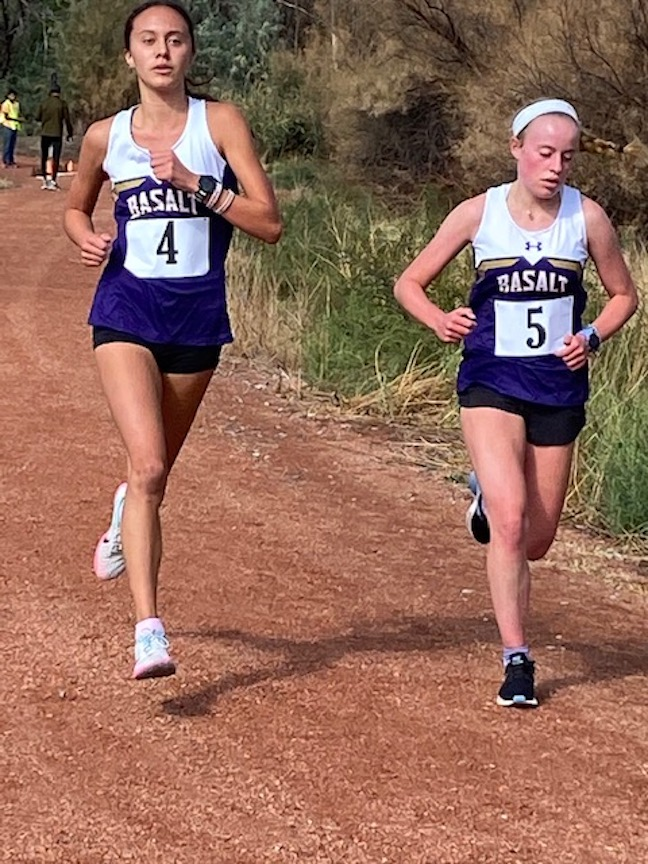 Basalt competes at a cross country meet in Delta on Friday, Sept. 11, 2020.