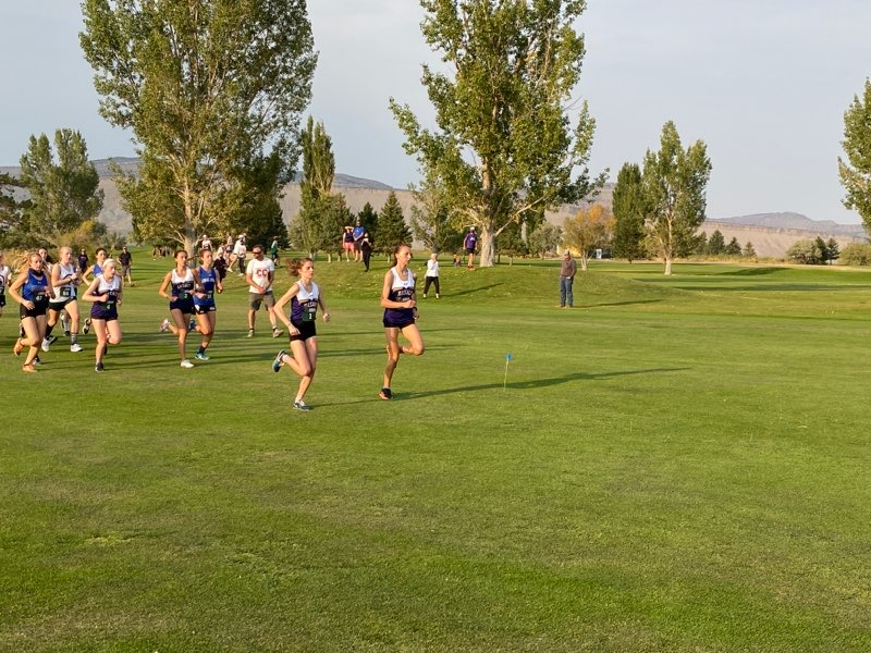 The Basalt High School cross country team competes on Friday, Sept. 18, 2020, in Rangely.