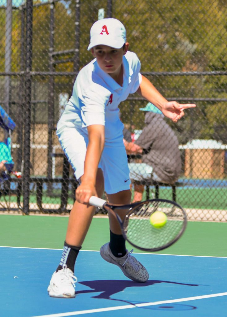 Aspen High School competes at the Class 4A state tennis tournament on Friday, Sept. 25, 2020, in Pueblo.