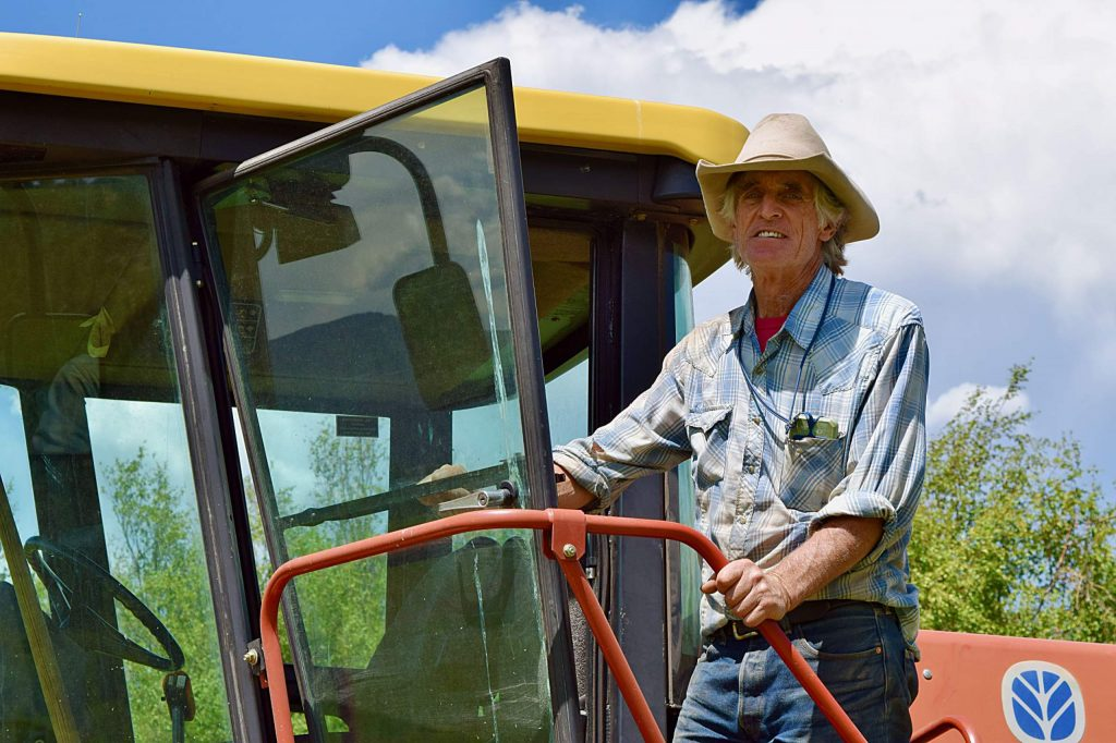 "Carbondale rancher Bill Fales says that in 47 years of ranching in the Roaring Fork Valley, he's never sees hay production as dismal as in 2020. ""I used to think that one of the advantages of ranching here is we had a really stable climate,"" he says."