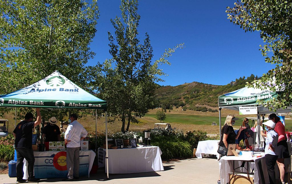 The Snowmass Wine and Golf Festival at the Snowmass Club, Sept. 3, 2020.