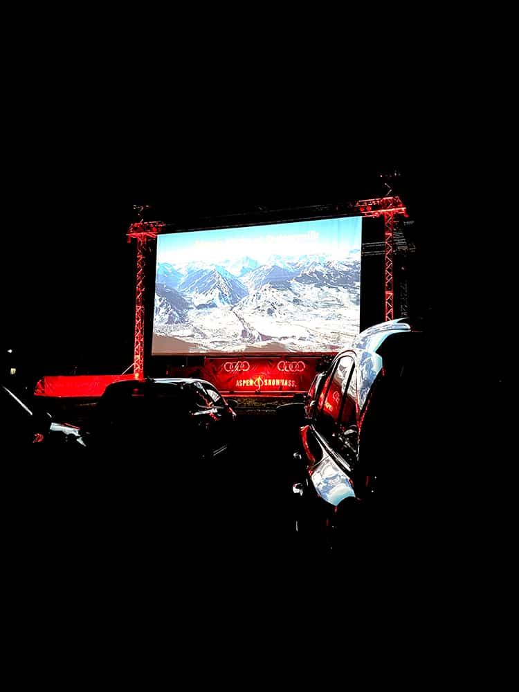 The final film screened at this summer's Audi Drive-In Theatre at Buttermilk.
