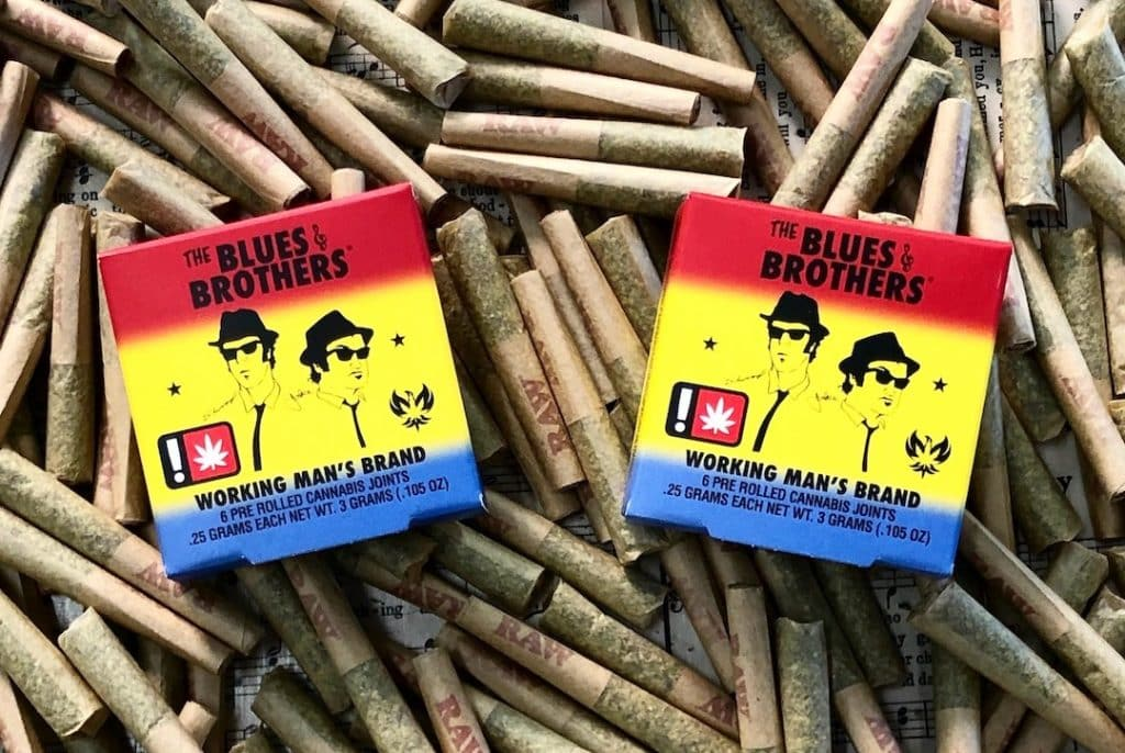 'The Blues Brothers' pre-rolls by Belushi's Farm will hit shelves in Aspen exclusively at The Green Solution in November.