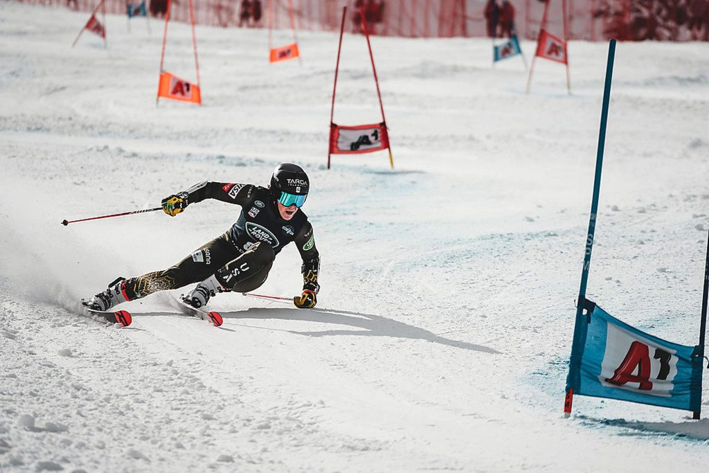 Edwards' River Radamus gets in some training before last weekend's World Cup giant slalom in Soelden, Austria, where he finished 27th.