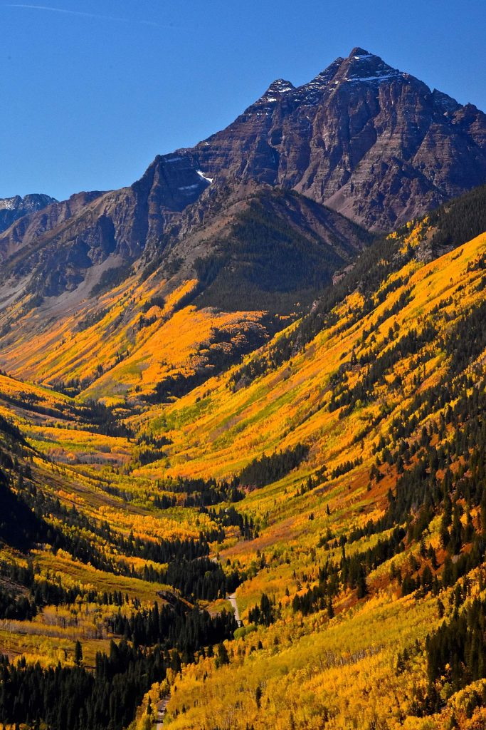 Maroon Creek Valley on Sept. 29 was a picture-perfect autumn moment for reader Bob Helmus, who took the above photograph.