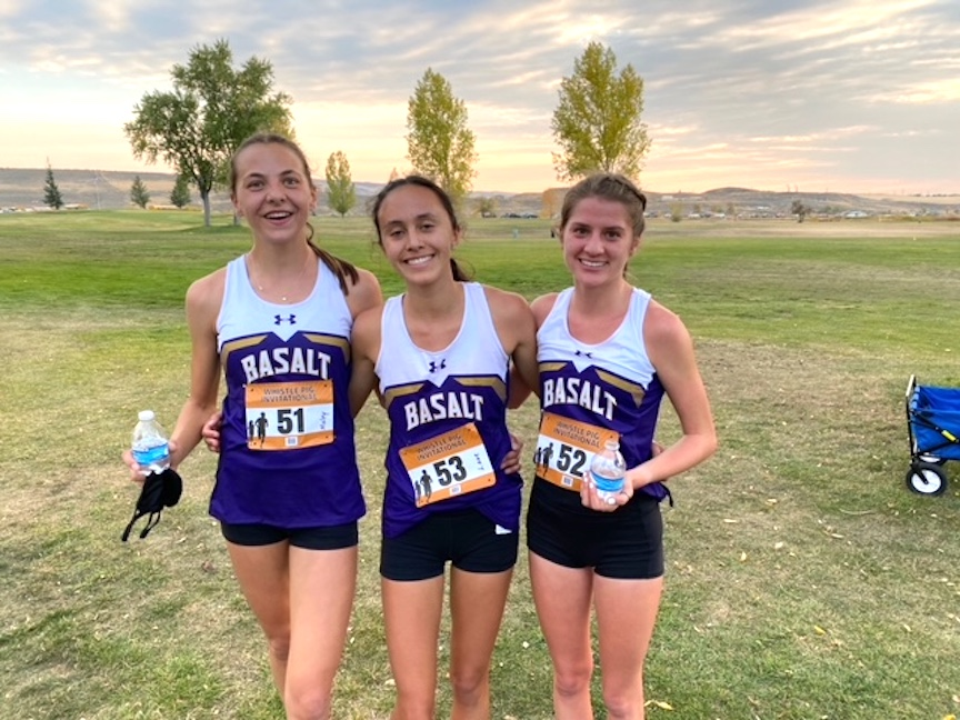 The Basalt High School cross country team competed on Friday, Oct. 2, 2020, in Craig.