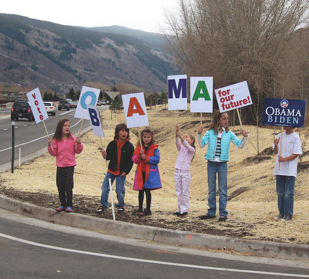 Election Day 2008 in Aspen.